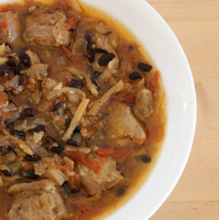pork with salted black beans
