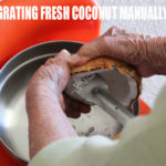 how to grate fresh coconut