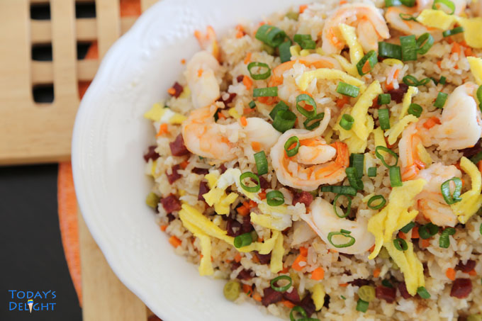 how to make yang chow fried rice
