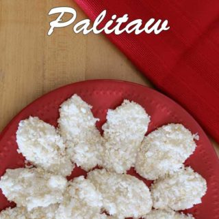 Palitaw Recipe a Filipino sweet rice cake is Today's Delight