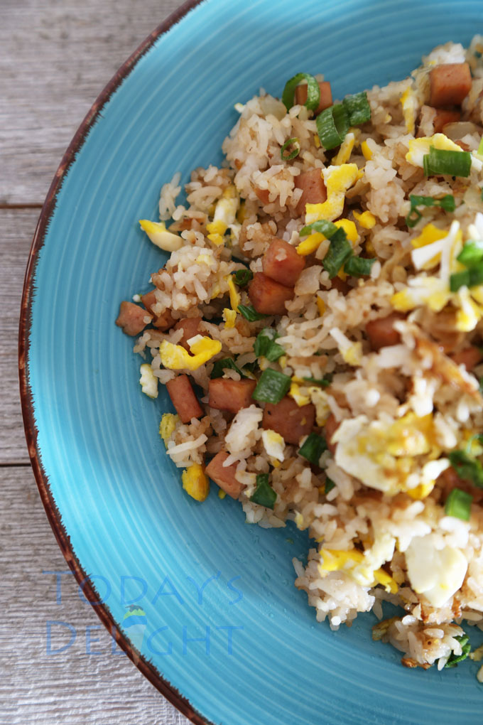 how to cook jalapeno spam fried rice