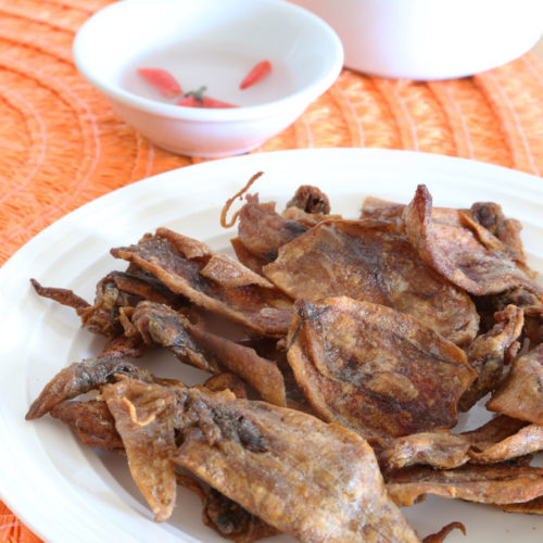 how to fry dried squid