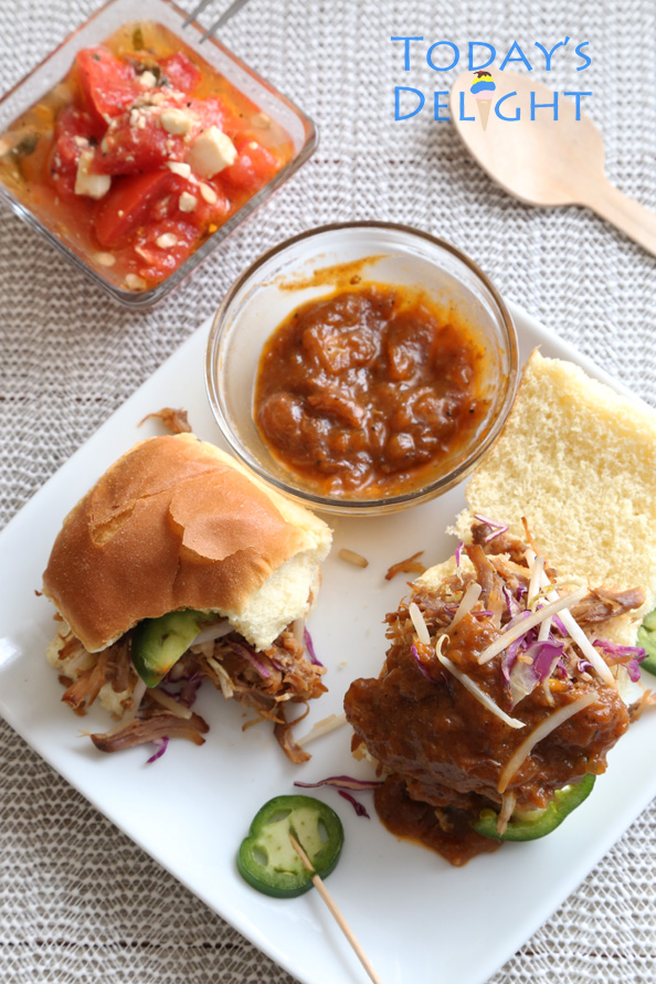 Pulled Pork Sliders recipe is Today's Delight