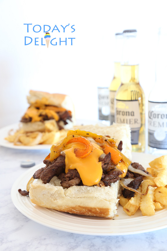 easy philly cheese steak recipe is Today's Delight
