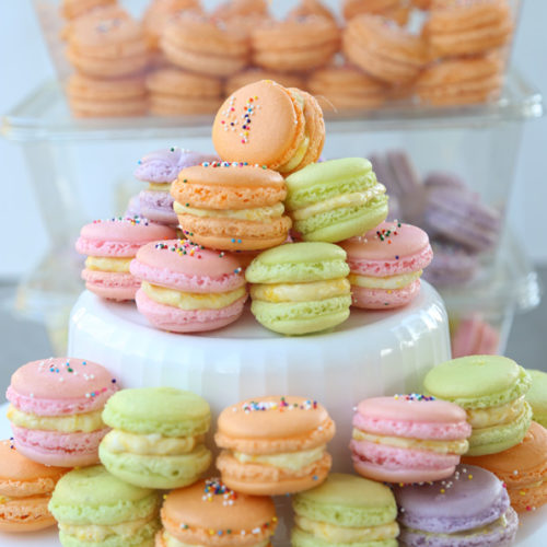 french macaron recipe is Today's Delight
