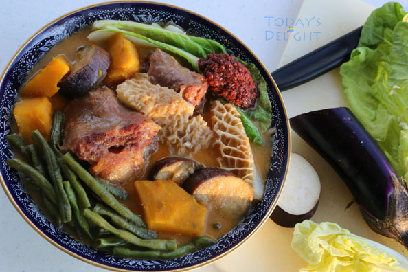 Tripe Oxtail Kare Kare Recipe