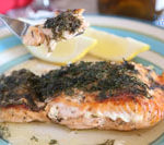 Lemon and dill complements salmon so well is Today's Delight