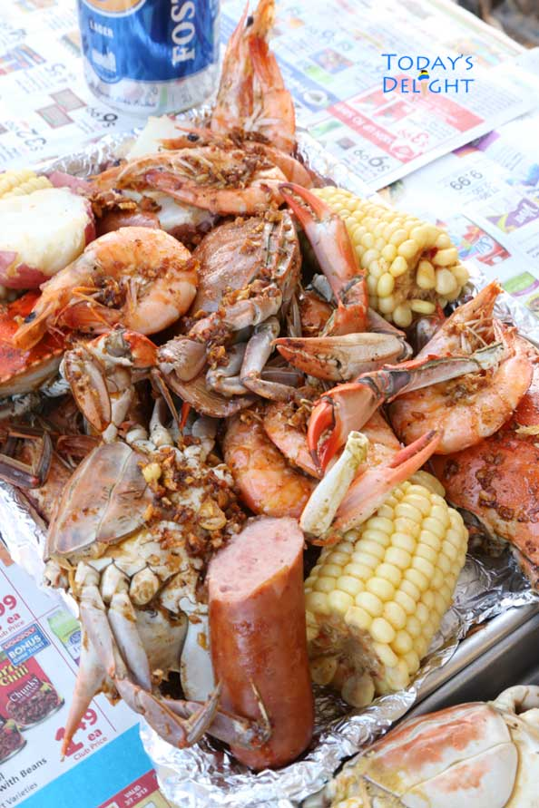 crab boil recipe is Today's Delight