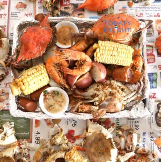 Louisiana shrimp and crab boil recipe is Today's Delight