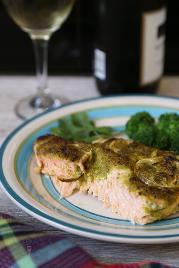 Light and delicious salmon with lime is Today's Delight