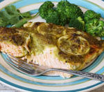 salmon with lime recipe is Today's Delight
