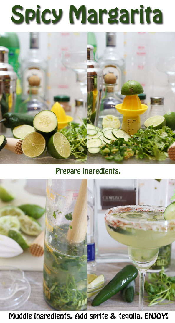 how to make spicy margarita recipe is Today's Delight