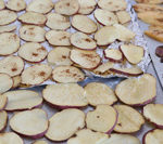 Pumpkin Spice Baked Sweet Potato Chips recipe is Today's Delight