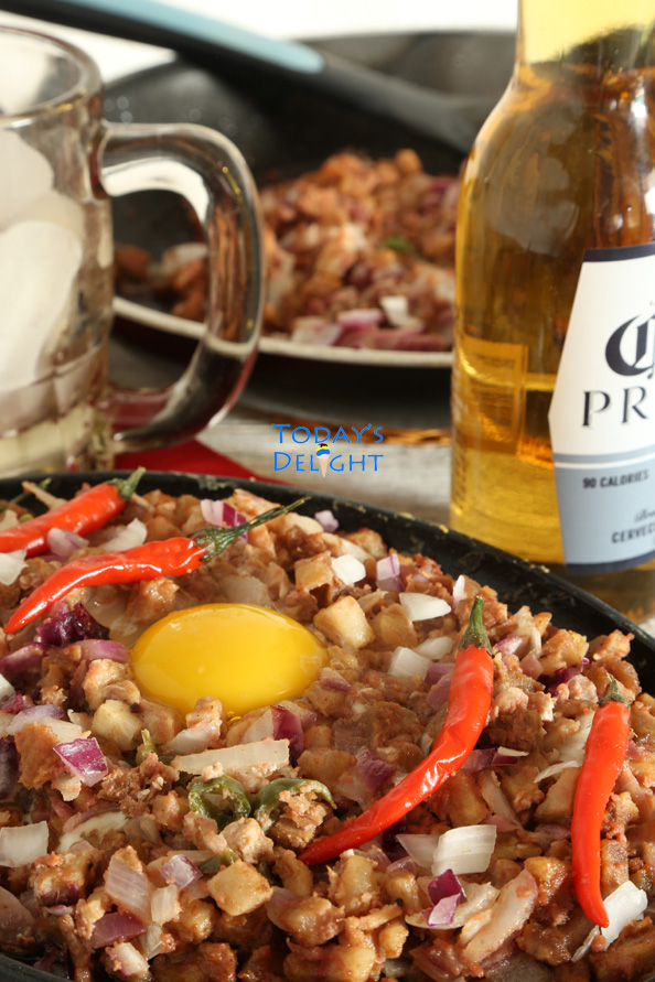 pork sisig recipe is Today's Delight