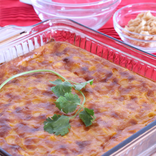 easy baked corn recipe is Today's Delight