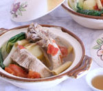 spareribs and lemongrass soup is Today's Delight