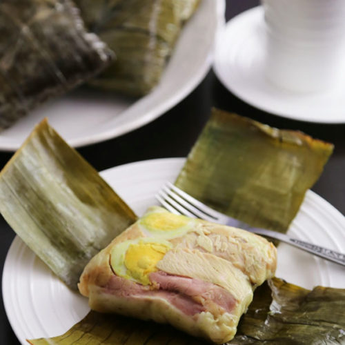 Filipino Tamales is Today's Delight