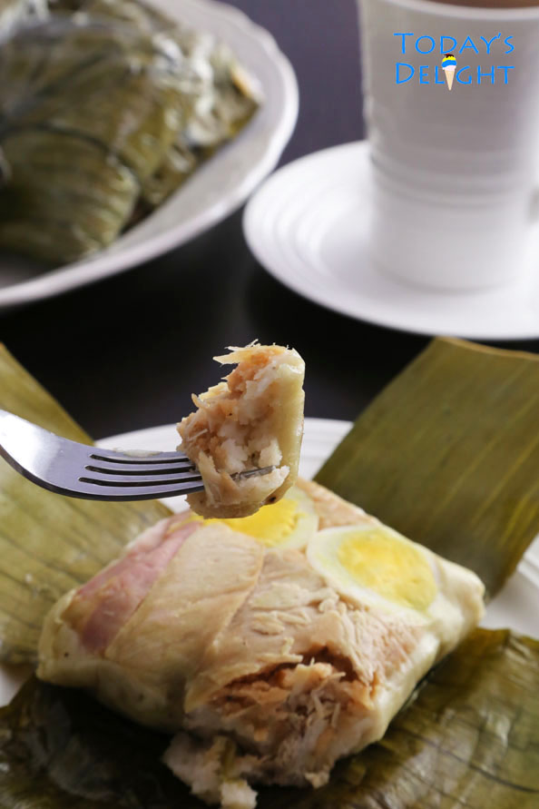 Filipino tamales recipe is Today's Delight