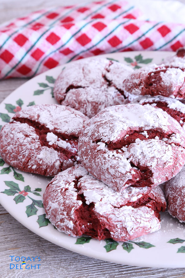 How to Make this Red Velvet Crinkle Cookies Recipe is Today's Delight