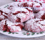 Enjoy this easy red velvet crinkle cookies recipe. Today's Delight