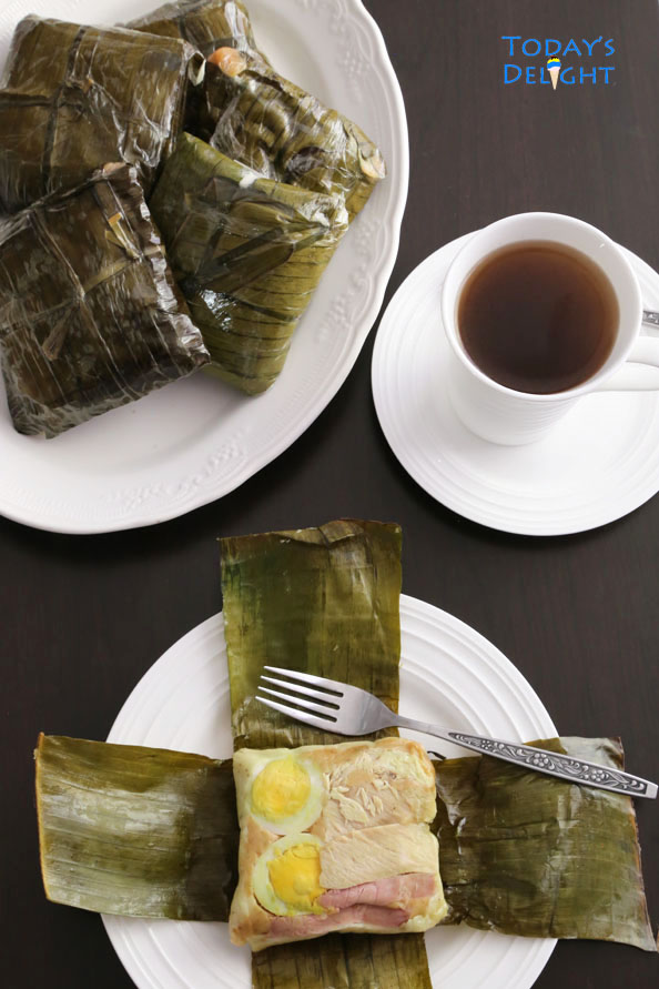 how to make Filipino tamales is Today's Delight