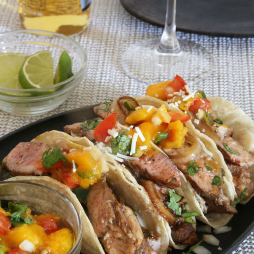 Today's Delight is Pork Tacos Recipe .