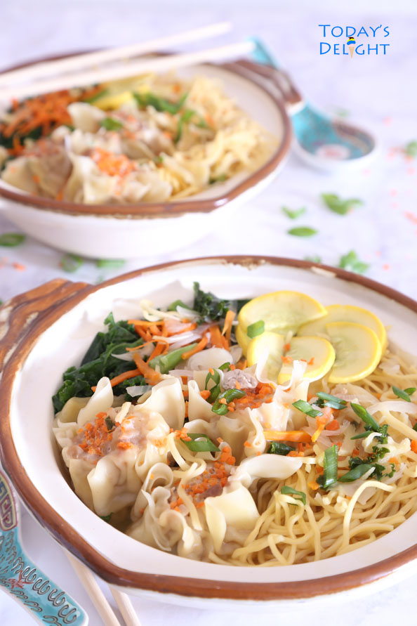 how to cook wonton noodle soup at home is Today's Delight
