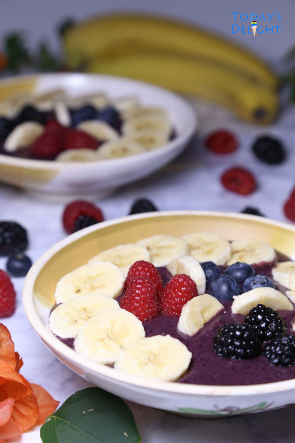 how to make acai bowl is Today's Delight