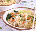 Recipe for Wonton Noodle Soup is Today's Delight