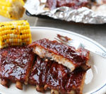 This barbecue ribs recipe is Today's Delight