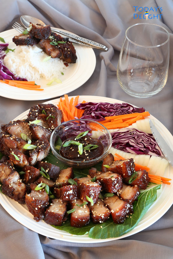 Stove top Chinese Barbecue Pork  is Today's Delight