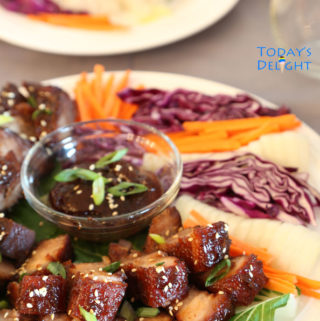 Also known as Chinese Barbecue Pork is Today's Delight