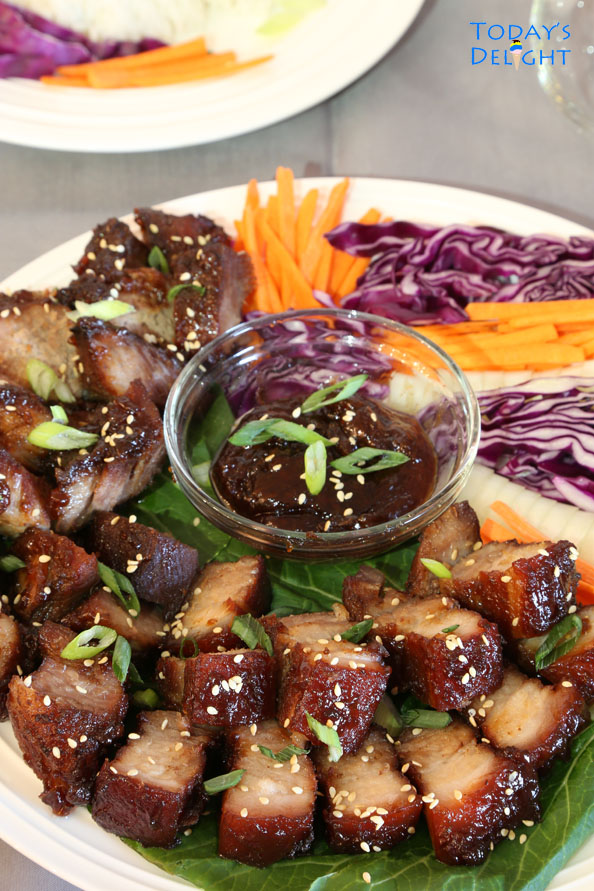 Chinese Barbecue Pork is Today's Delight