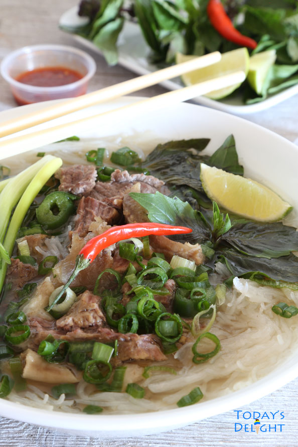 Savory Viet Beef Pho is Today's Delight