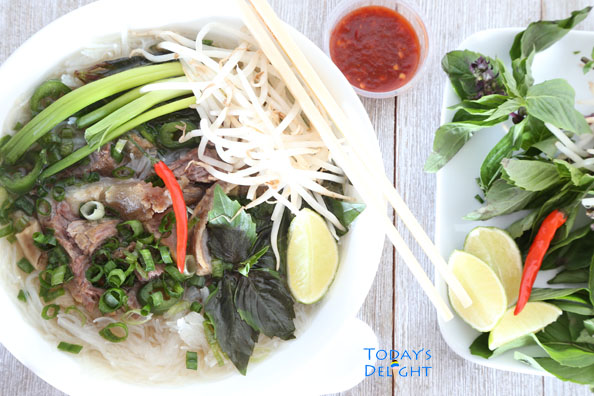 Viet Pho is Today's Delight and delicious.