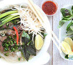 vietnamese beef pho is a soup and it is Today's Delight