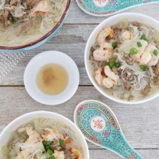 Today's Delight is Sotanghon with Upo Soup