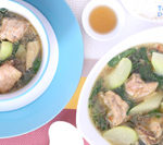 This Tinolang Manok is packed with healthy ingredient and it is today's delight.