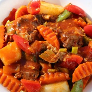 beef mechado recipe is beef stew and today'd delight