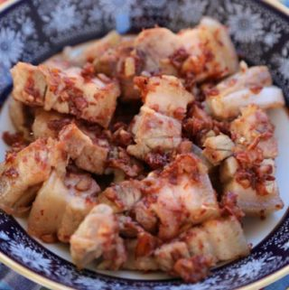 Binagoongang Baboy recipe is pork belly flavored with shrimp paste is Today's Delight