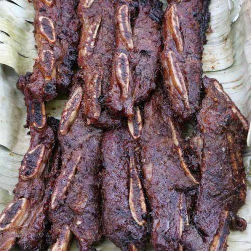 Grilled Korean Beef Short Ribs also known Kalbi is Today's Delight