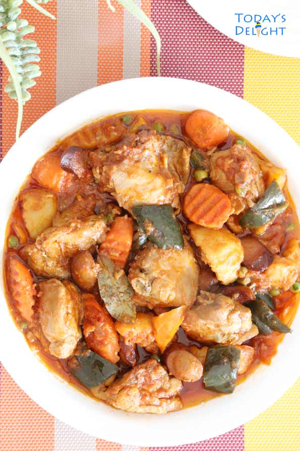 Filipino Chicken Stew is Today's Delight