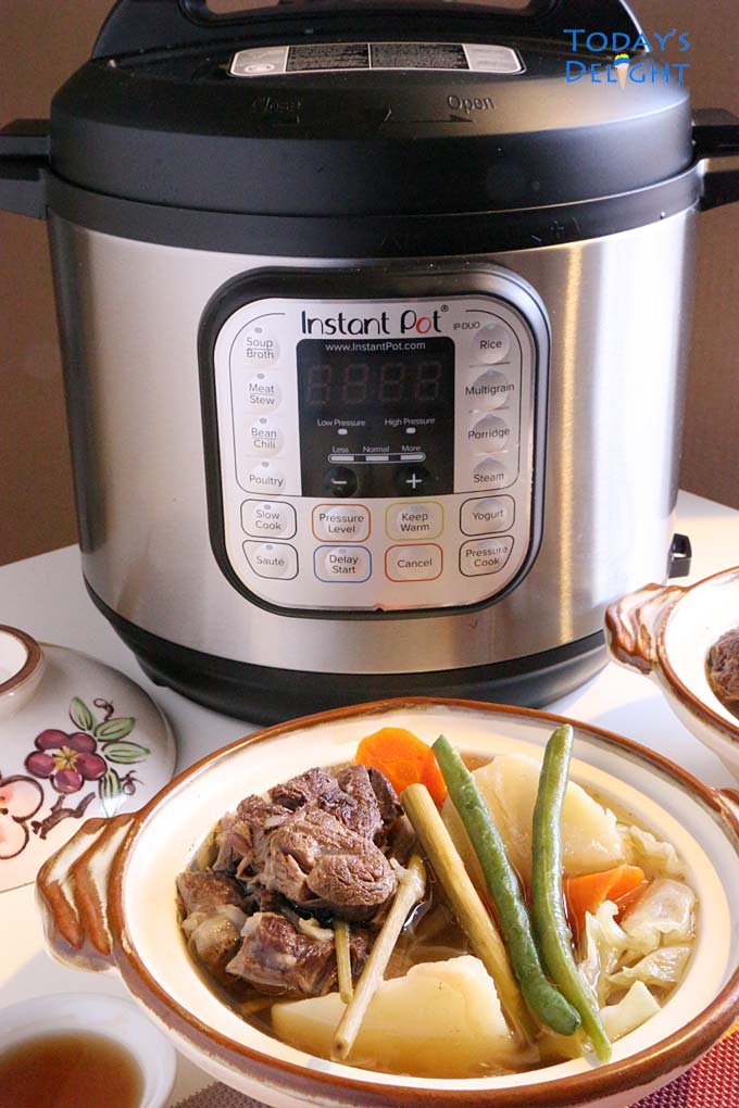 Instant Pot Beef Nilaga in Lemongrass is Today's Delight