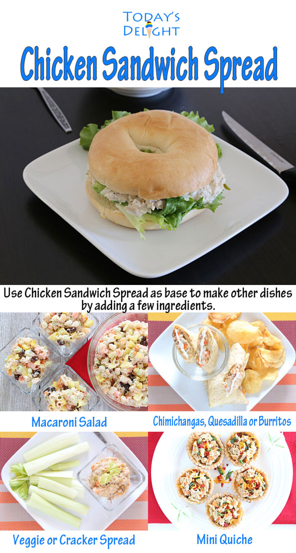 Chicken Sandwich Spread Filipino style is Today's Delight