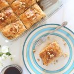 Plantain Baklava with Jackfruit & Walnut in Rum Syrup is Today's Delight